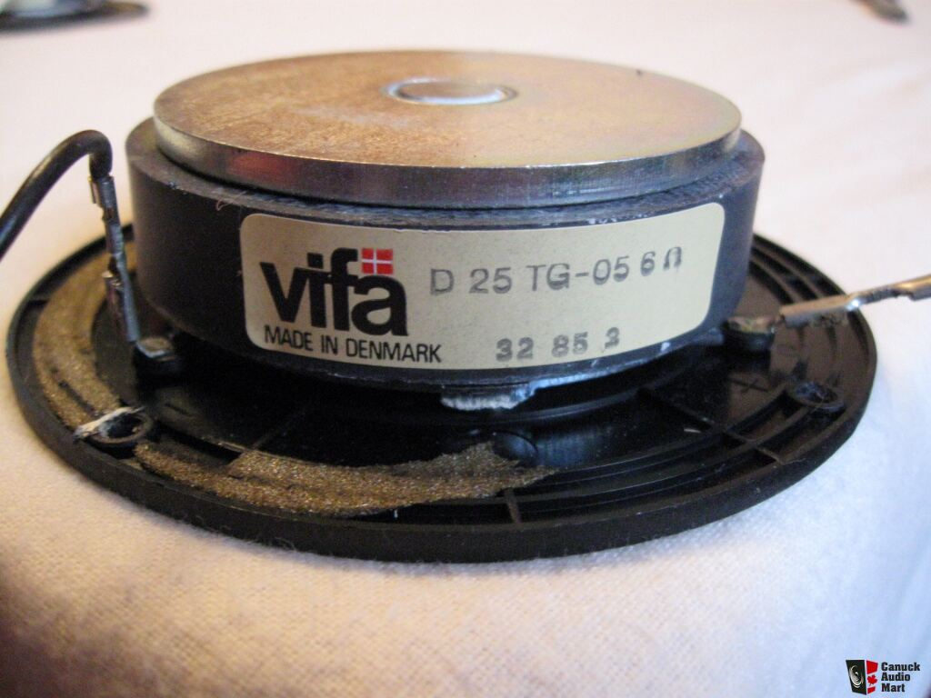 vifa d25 tg 05 tweeters   6 ohm photo 640012   canuck audio mart