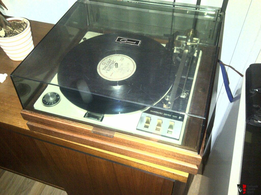 GARRARD ZERO 100 IDLER DRIVE TURNTABLE-- SALE PENDING to