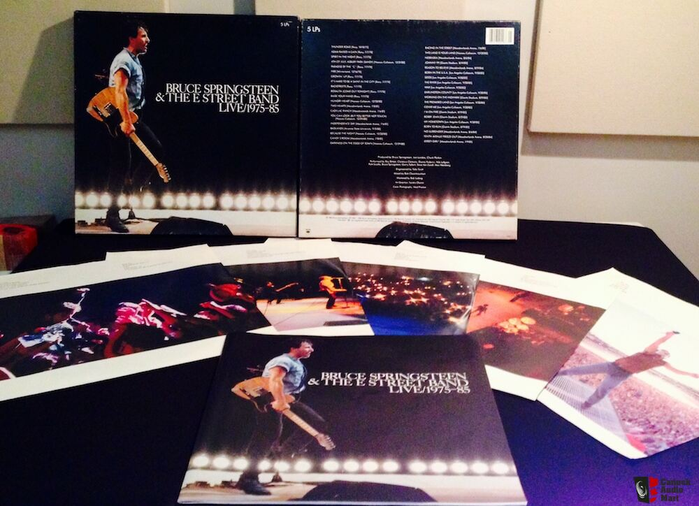 bruce springsteen   the e street band live   1975 85 photo 657145 us audio mart pass labs d1 service manual Lab Book