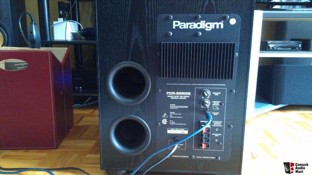 Paradigm Pdr 10 Subwoofer Manual
