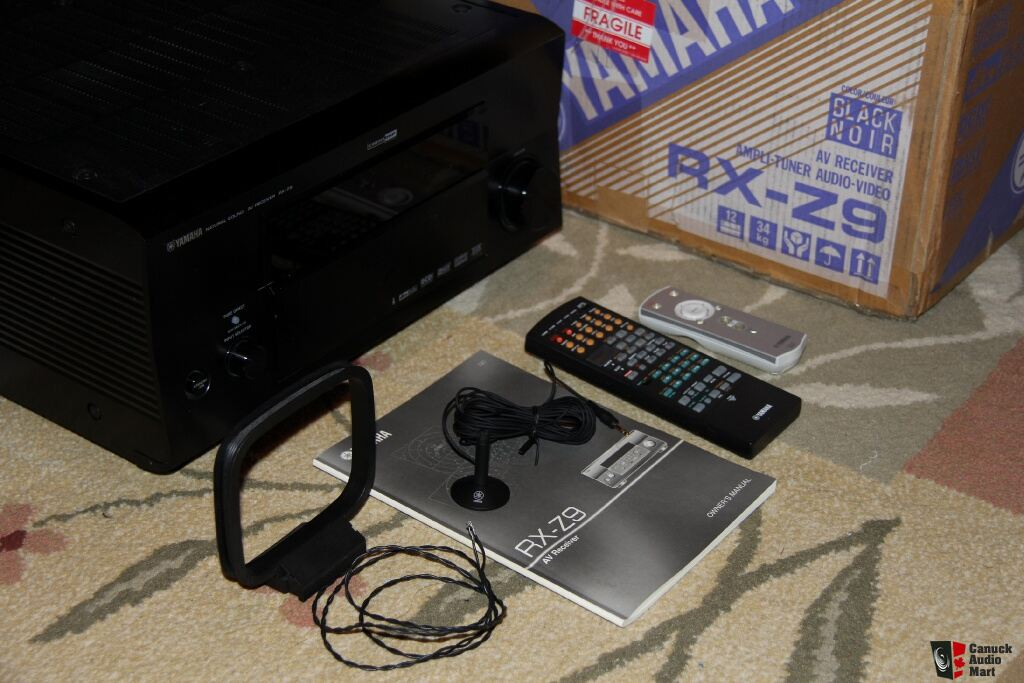 Yamaha Rx V   Channel Watt Receiver