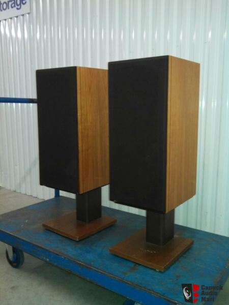 B Amp W Bowers And Wilkins Dm 14 Vintage Speakers With Factory