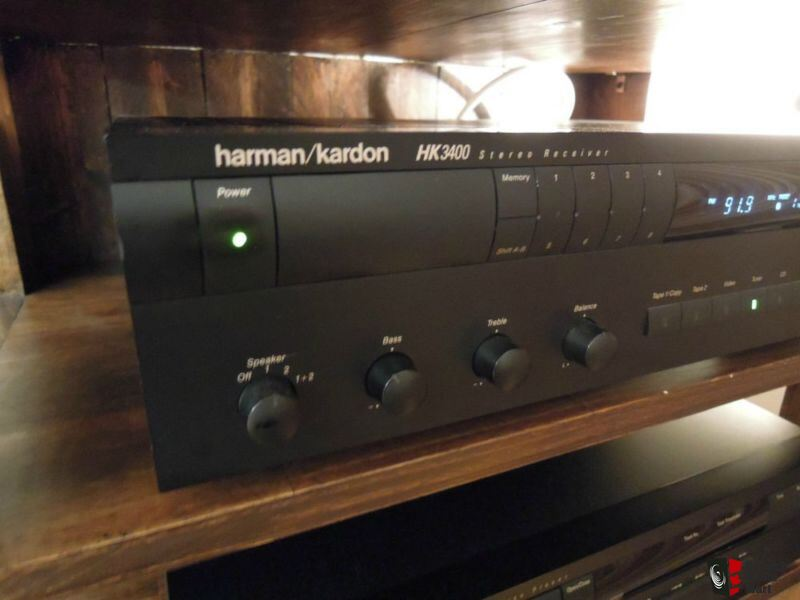 harman kardon hk3400 stereo receiver photo 670461 us. Black Bedroom Furniture Sets. Home Design Ideas