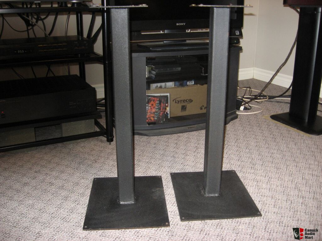 Speaker Stands Steel 24 Quot Tall Sand Filled Photo 675808