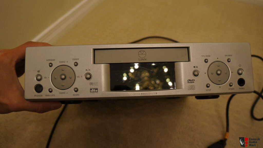 linn classik movie amplifier cd radio with remote