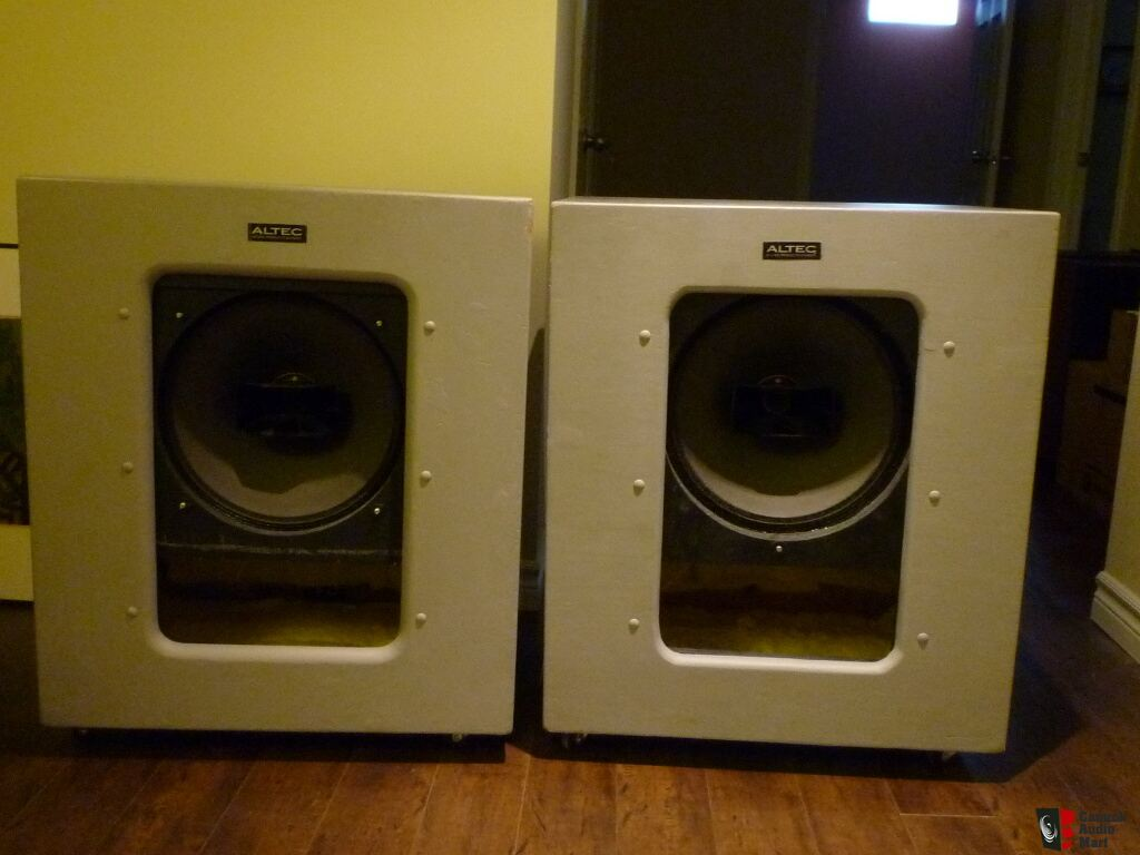 ALTEC 612 cabinets with Altec 604E Duplex Drivers Photo #682403 ...