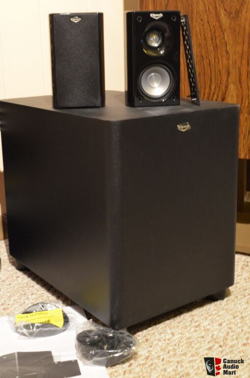 home theatre 5 1 speakers klipsch hd500 photo 700061 canuck audio mart. Black Bedroom Furniture Sets. Home Design Ideas
