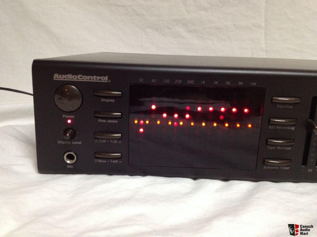 audio control c 101 series iii eq photo 707475 canuck audio mart. Black Bedroom Furniture Sets. Home Design Ideas