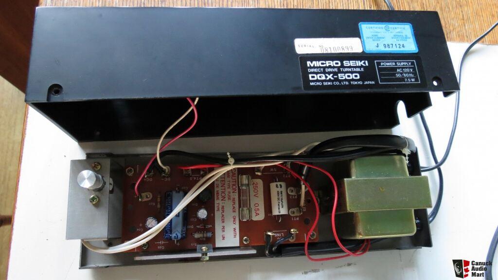 Micro Seiki Dqx 500 Turntable With Ma 707 Tonearm Photo