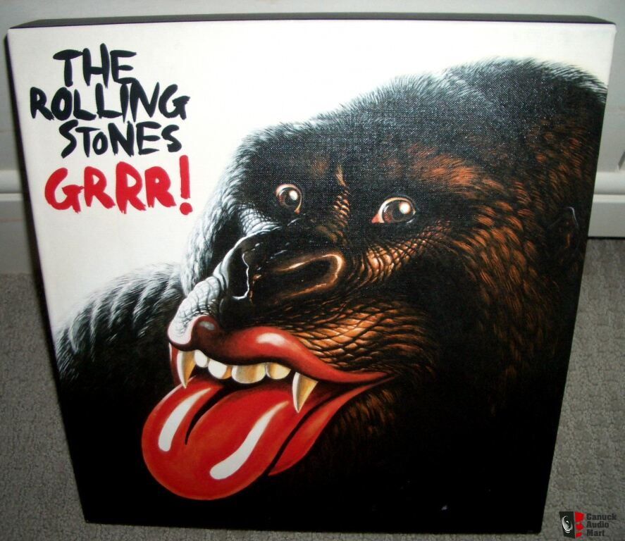 The Rolling Stones Grrr Greatest Hits Super Deluxe 5 Lp