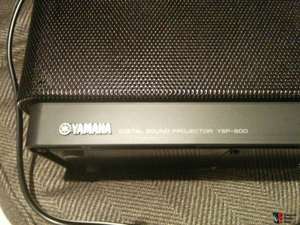 Yamaha Soundbar - YSP-800 Photo #731015 - Canuck Audio Mart