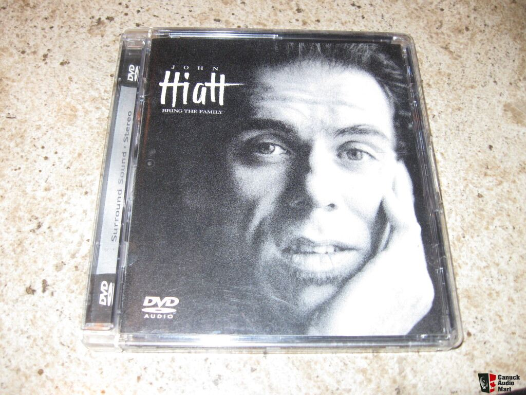 "John Hiatt DVD-Audio ""Bring the Family Photo #740679 - US ..."