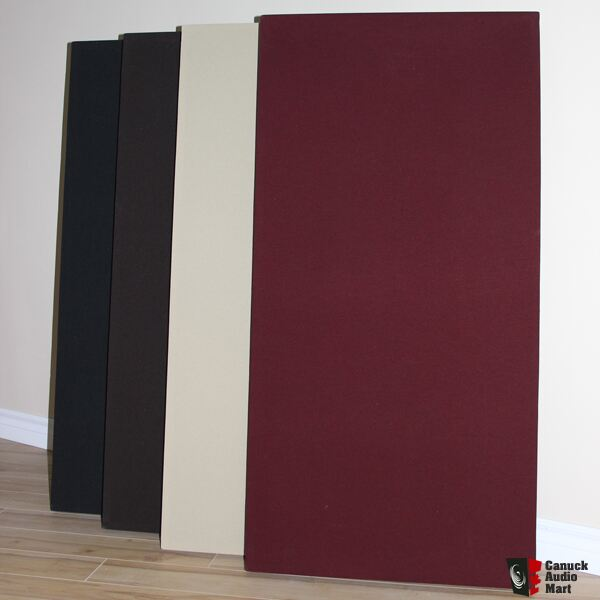 Corner Bass Traps and Fabric Wrapped Acoustic Panels