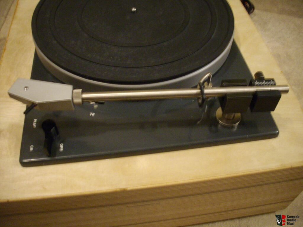 Lenco turntable with custom laminated cld plinth photo for Custom laminations