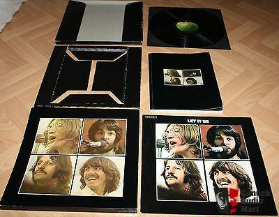 Beatles Quot Let It Be Quot Box Set Soal 6351 Vinyl With Booklet