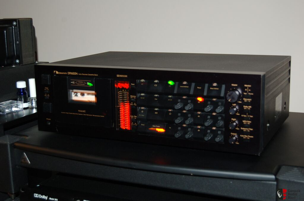 Nakamichi Dragon Cassette Deck Photo 766685 Us Audio Mart