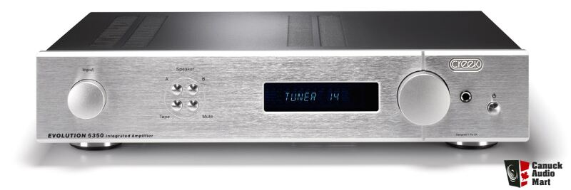 CREEK EVOLUTION 5350 INTEGRATED AMP, BRAND NEW IN SEALED ...