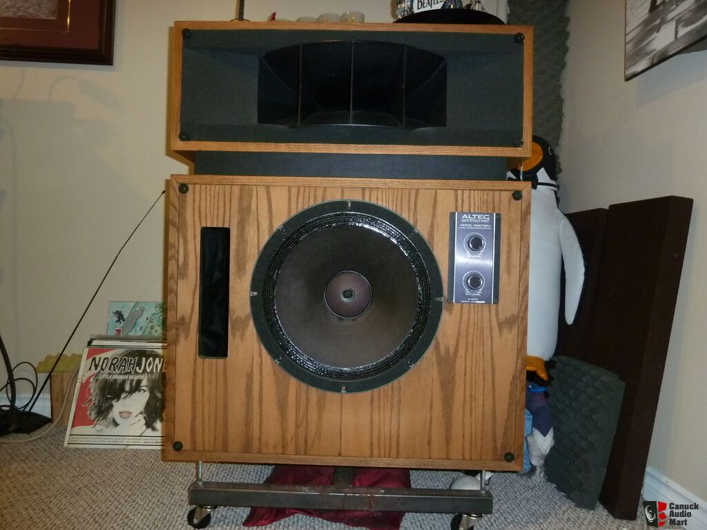 Altec 19 speakers with Jasmine EL34-PP integrated tube amp