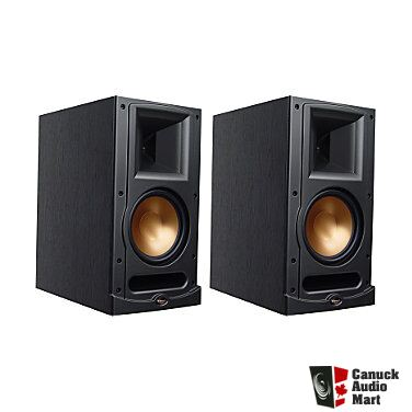 klipsch reference series rb 61 speakers black photo 789266 canuck audio mart. Black Bedroom Furniture Sets. Home Design Ideas