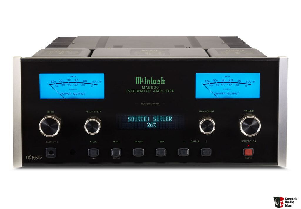 Mcintosh Ma6600 Integrated Amplifier Like New Photo