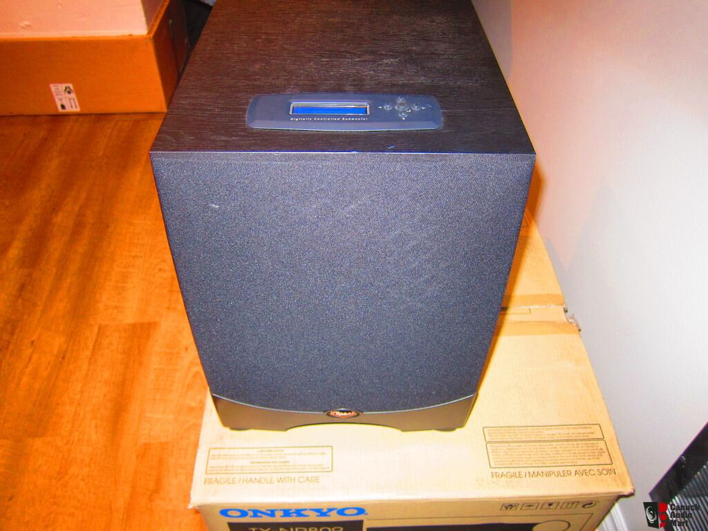 Klipsch Reference Series RW-10d subwoofer (SEE PHOTO)