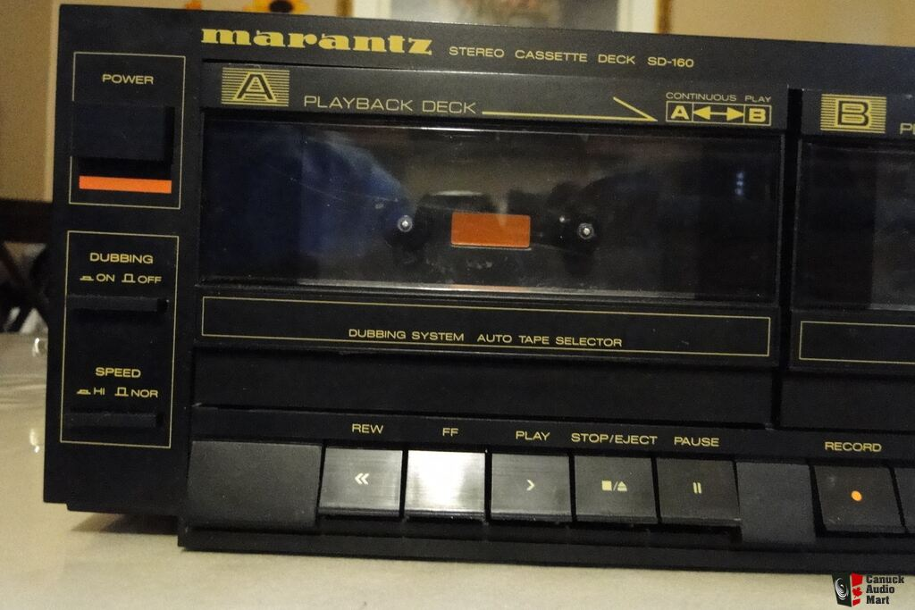 Vintage Marantz Stereo Cassette Deck SD-160 Photo #813537