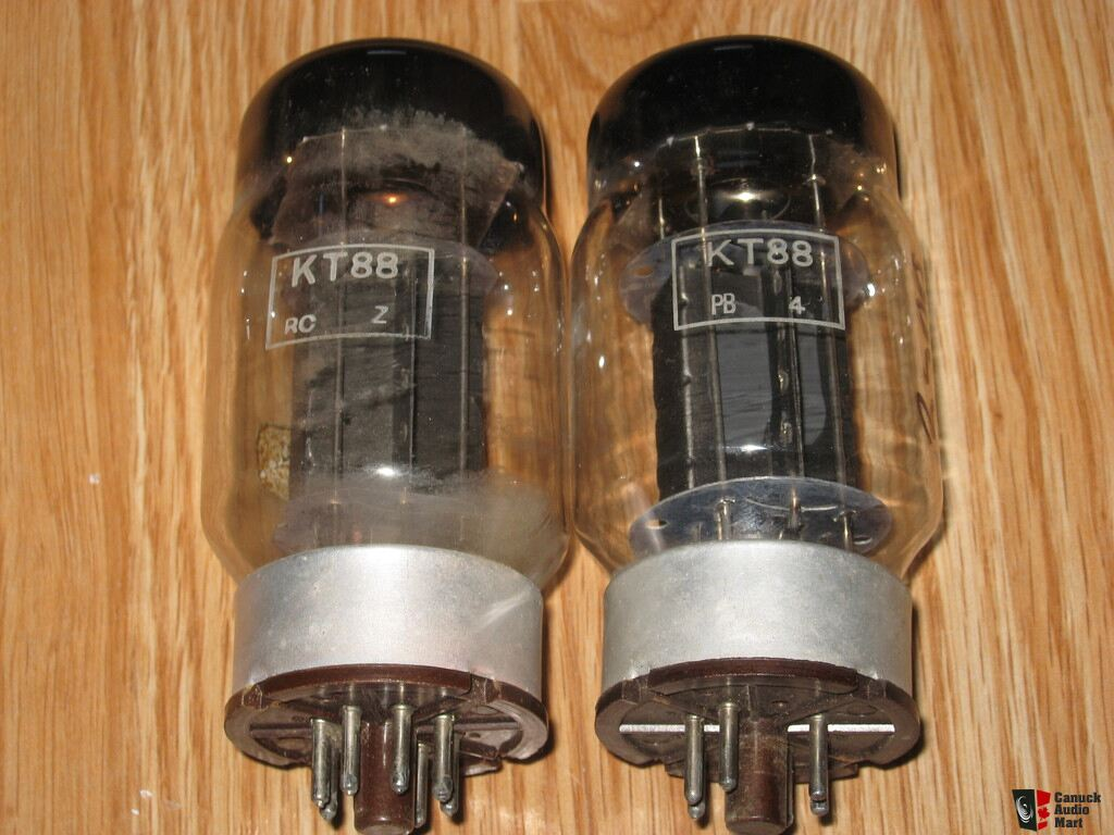 KT88 GENELEX PAIR TEST STRONG and other tubes