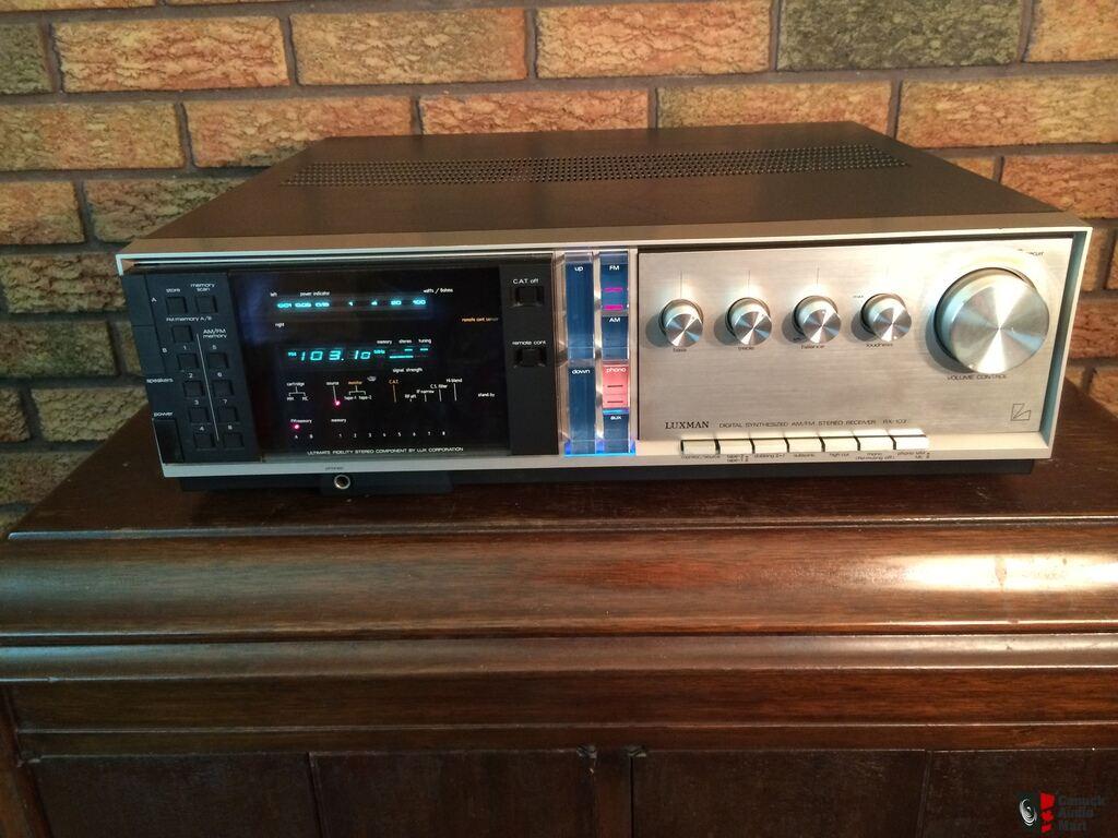 Vintage Luxman RX-103 Stereo Receiver - Parts or Repair