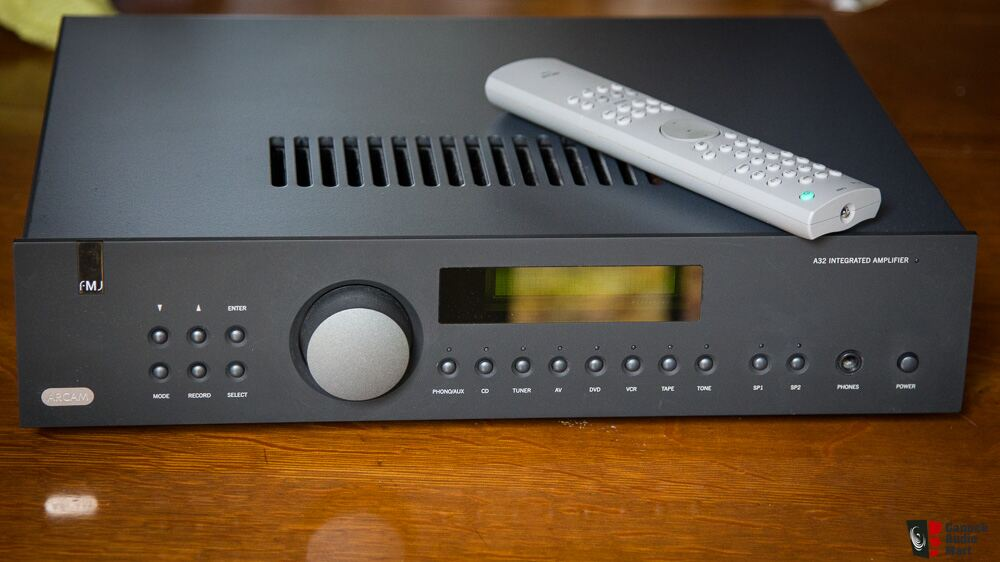 Arcam FMJ A32 Integrated Amplifier Photo #824277 - UK Audio Mart