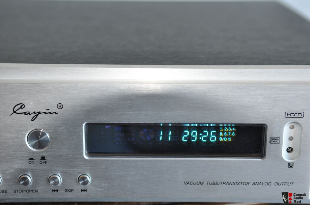 Cayin CDT 15A Tube CD Player