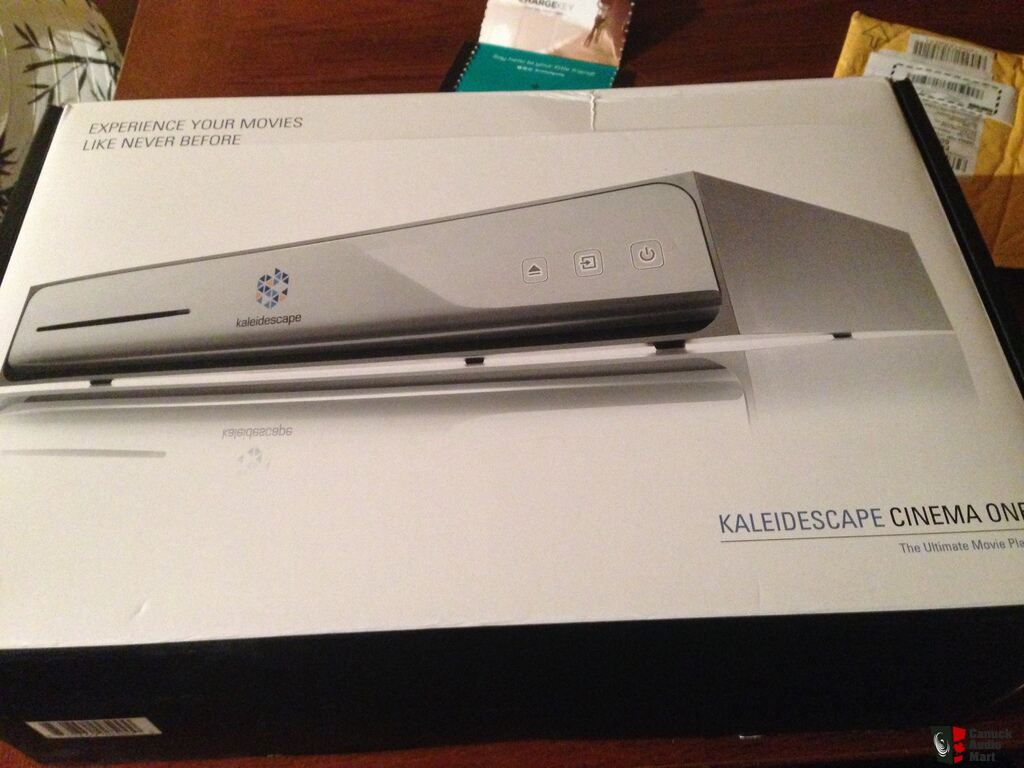 Kaleidescape Cinema One (Like new in box)
