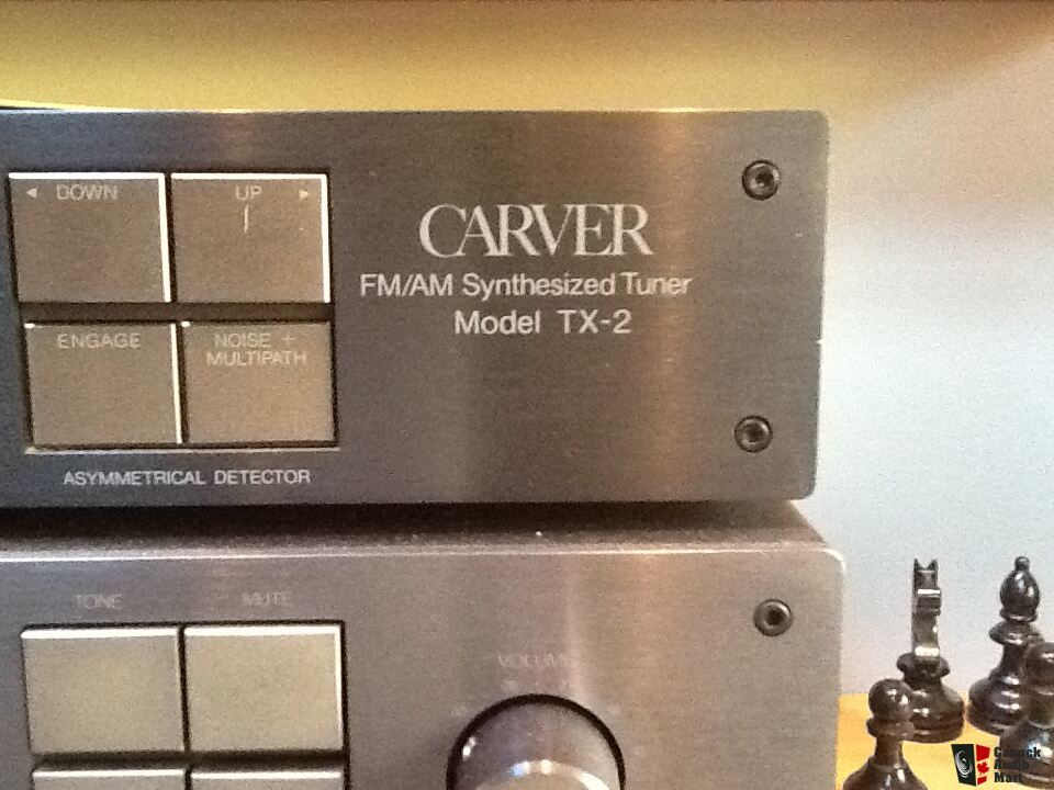 Carver stereo amps