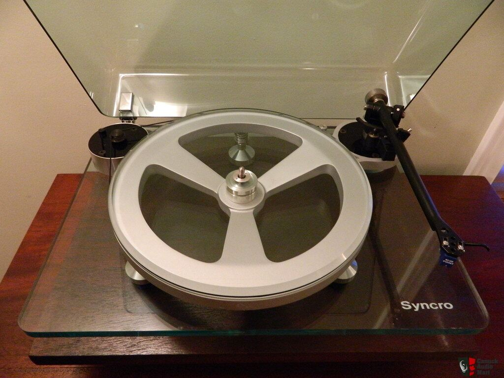 Rare Amp Collectable Michell Syncro Turntable Photo 844090
