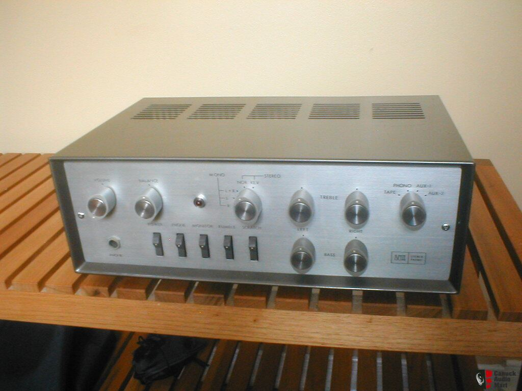 Tube Amplifier Vintage 70