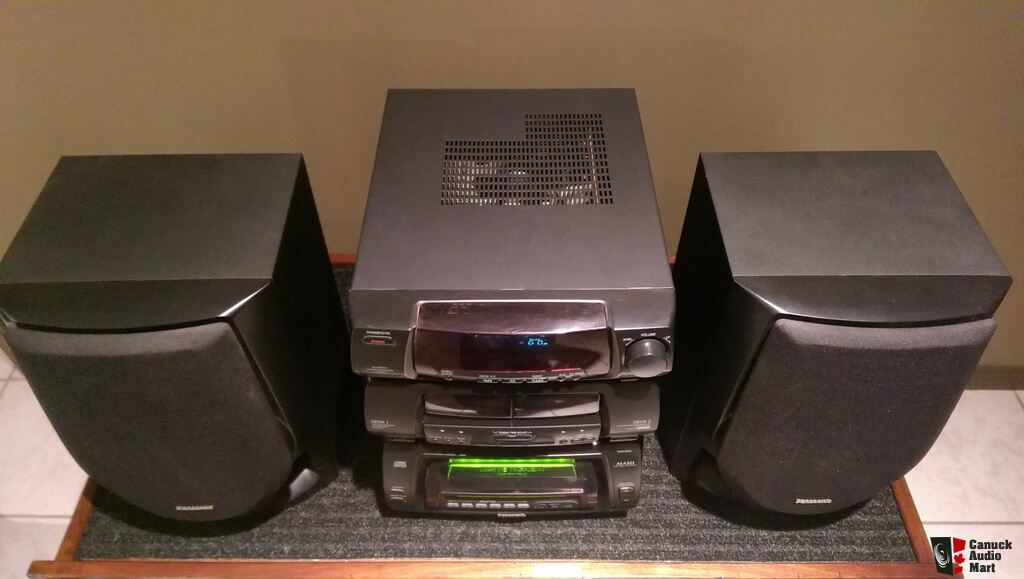 Panasonic 60+1 CD Stereo System SC CH94M