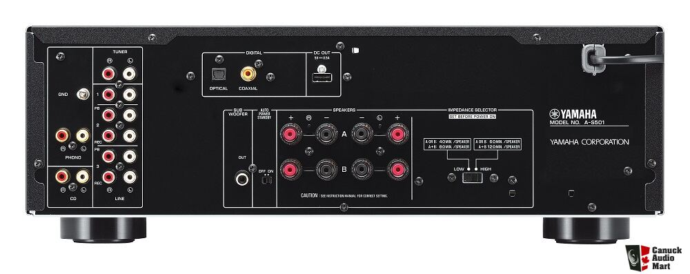 New yamaha amplifier as501 with yamaha yba11 bluetooth for Yamaha amplifier receiver