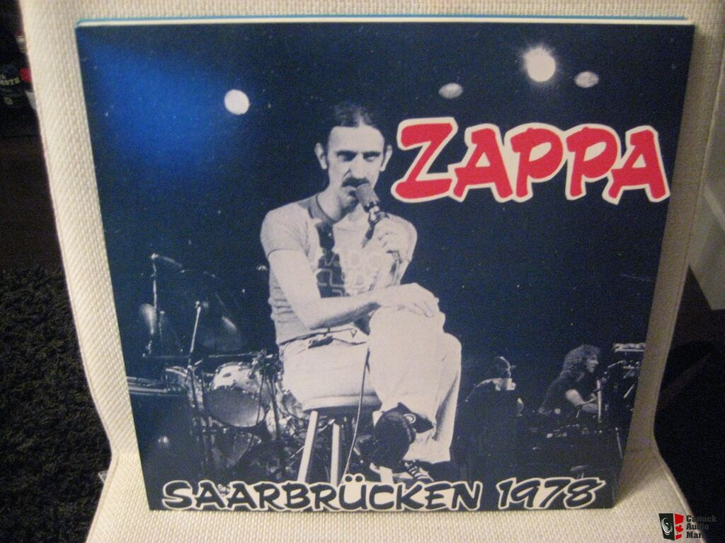 Frank Zappa Beat The Boots Vinyl Record Boxset Photo