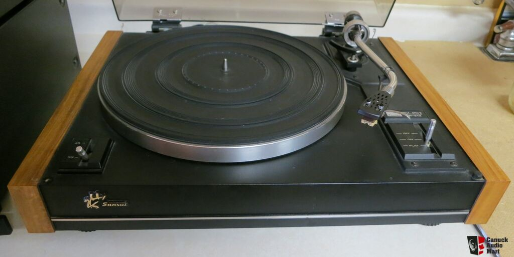 Turntable Vintage Vintage Sansui Turntable