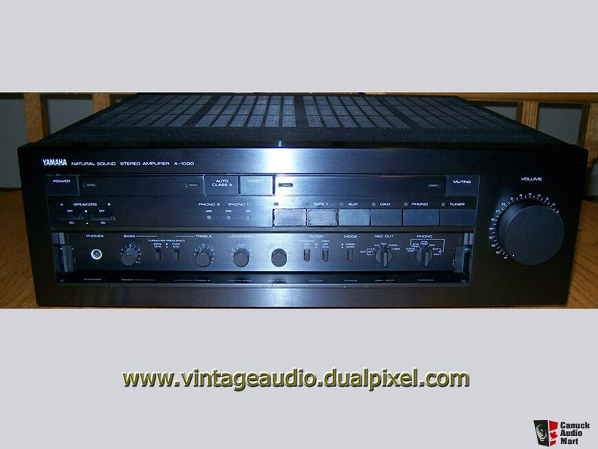 Yamaha integrated amp photo 890523 canuck audio mart for Yamaha amplifier spotify