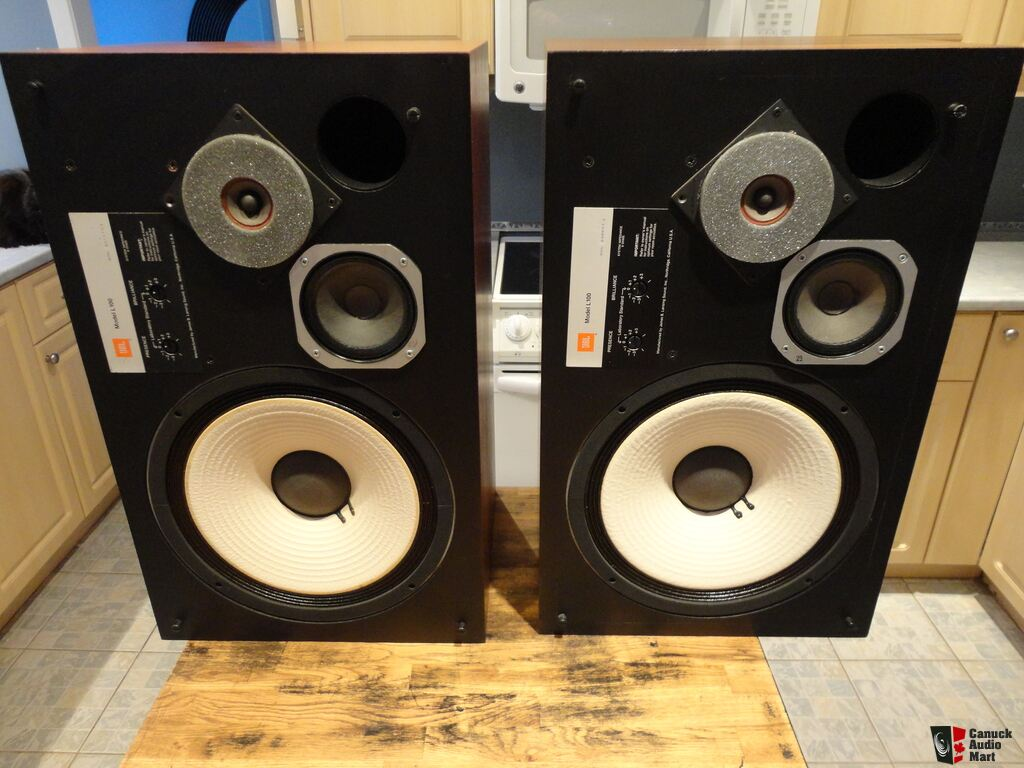 Vintage Jbl L Speakers on Jbl Amps Amplifier