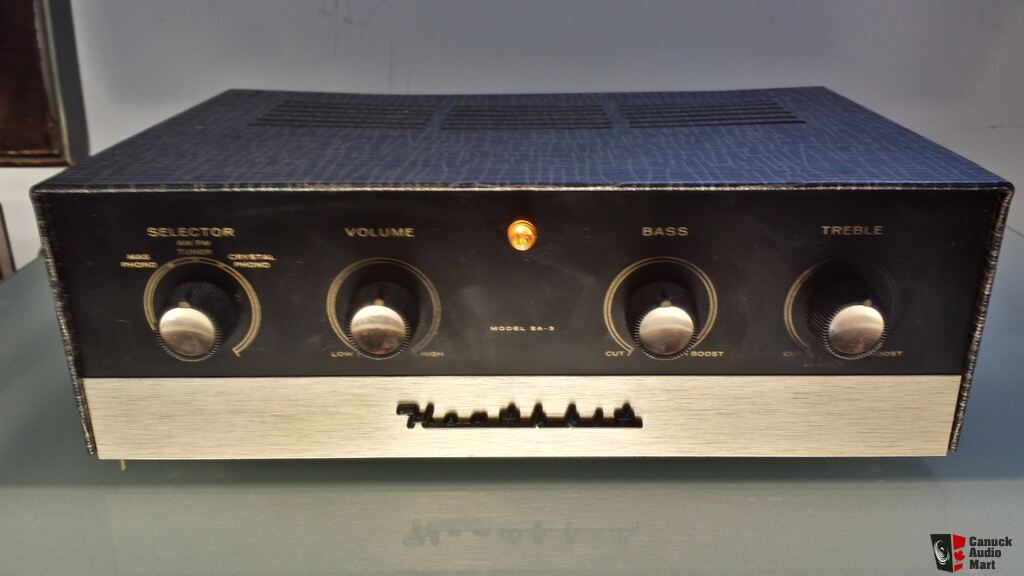 Heathkit EA-3 14 watt Integrated Tube Amplifer Mullard ...