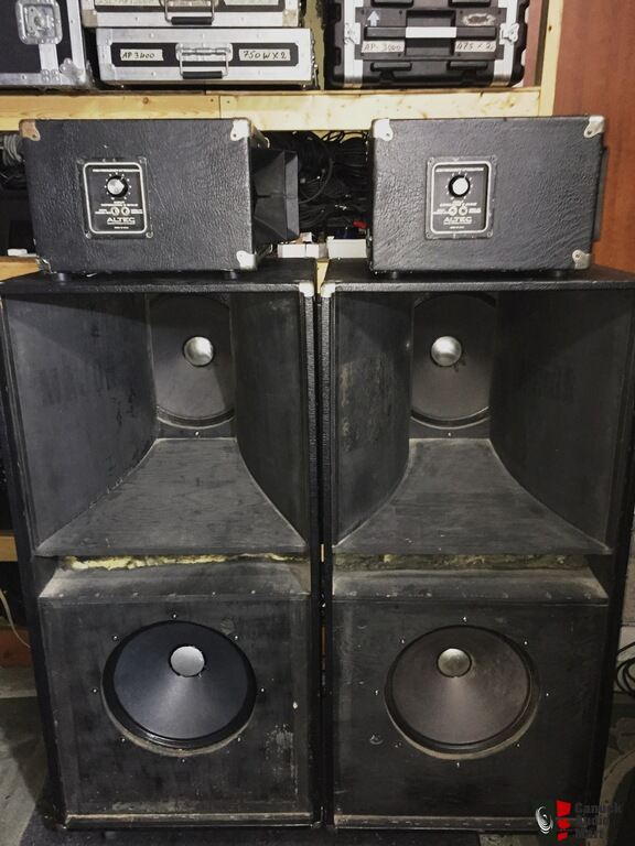 altec speakers vintage