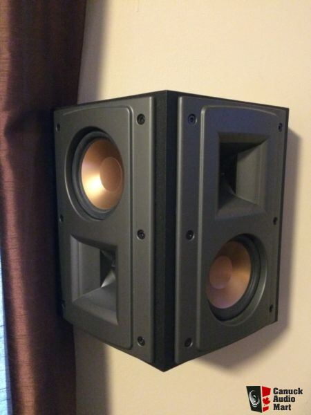 klipsch rs 42 surround speakers photo 908876 canuck audio mart. Black Bedroom Furniture Sets. Home Design Ideas