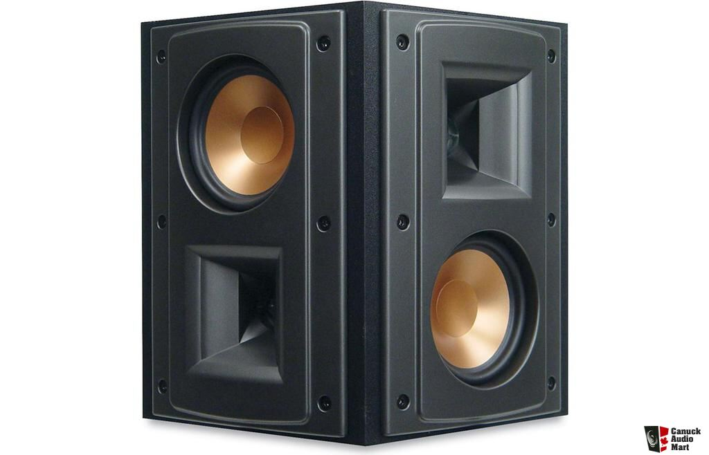 klipsch rs 42 surround speakers photo 909142 canuck audio mart. Black Bedroom Furniture Sets. Home Design Ideas