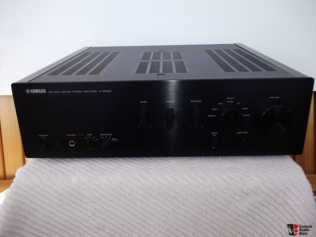 Yamaha a s2000 integrated amplifier photo 913200 canuck for Yamaha audio customer service