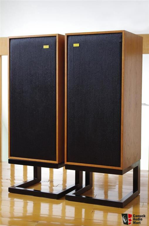 Soportes retro para Spendor Classic 914302-spendor-bc1-with-stands