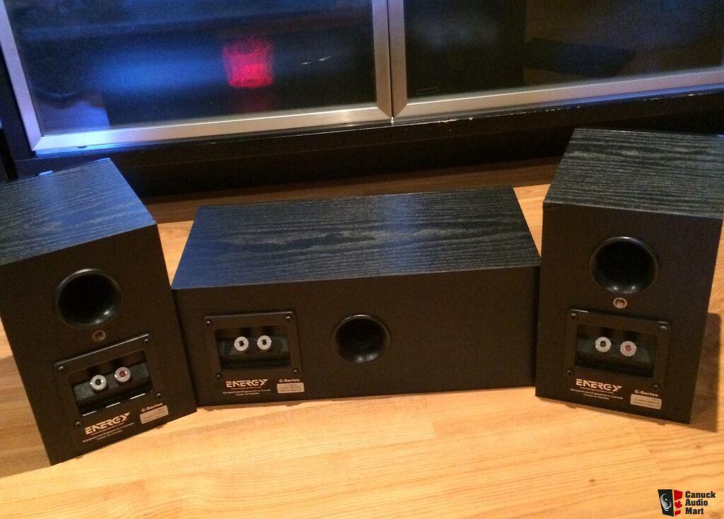 Energy C 50 Bookshelf Speakers Matching C50 Centre Channel Speaker