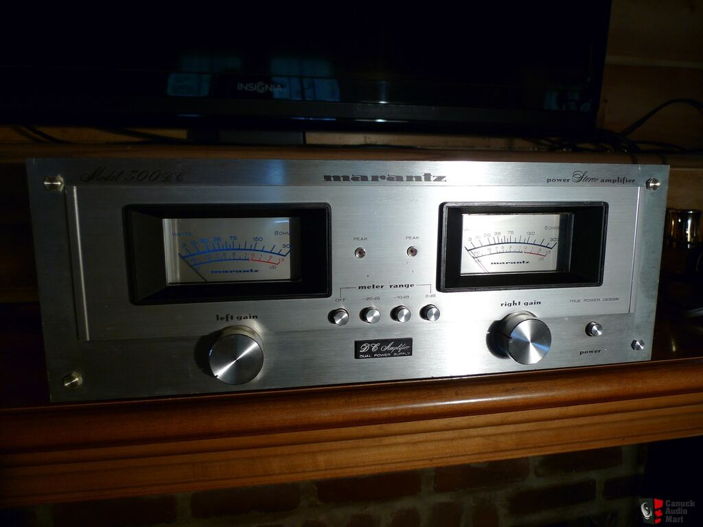 rare ampli marantz 300 dc photo 925301 us audio mart. Black Bedroom Furniture Sets. Home Design Ideas