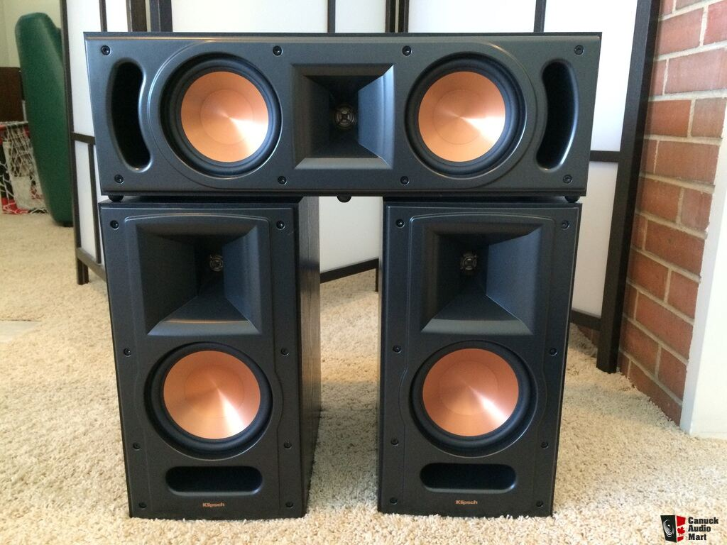 klipsch reference rb 61 ii and rc 52 ii photo 925326 canuck audio mart. Black Bedroom Furniture Sets. Home Design Ideas