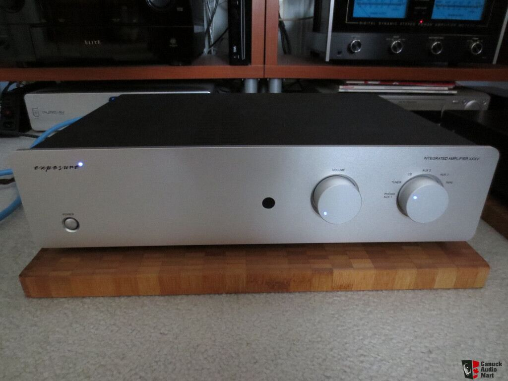 Exposure Classic XXXV integrated amp TOTL made in England ...